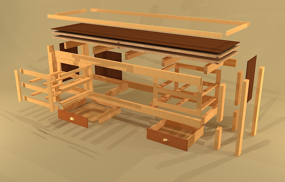 Here s another variation of a simple but sturdy workbench constructed