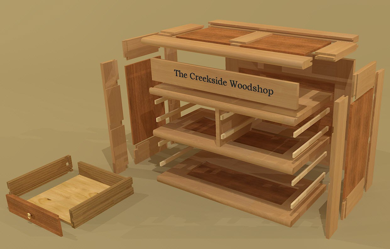 Creekside Woodshop-New Projects
