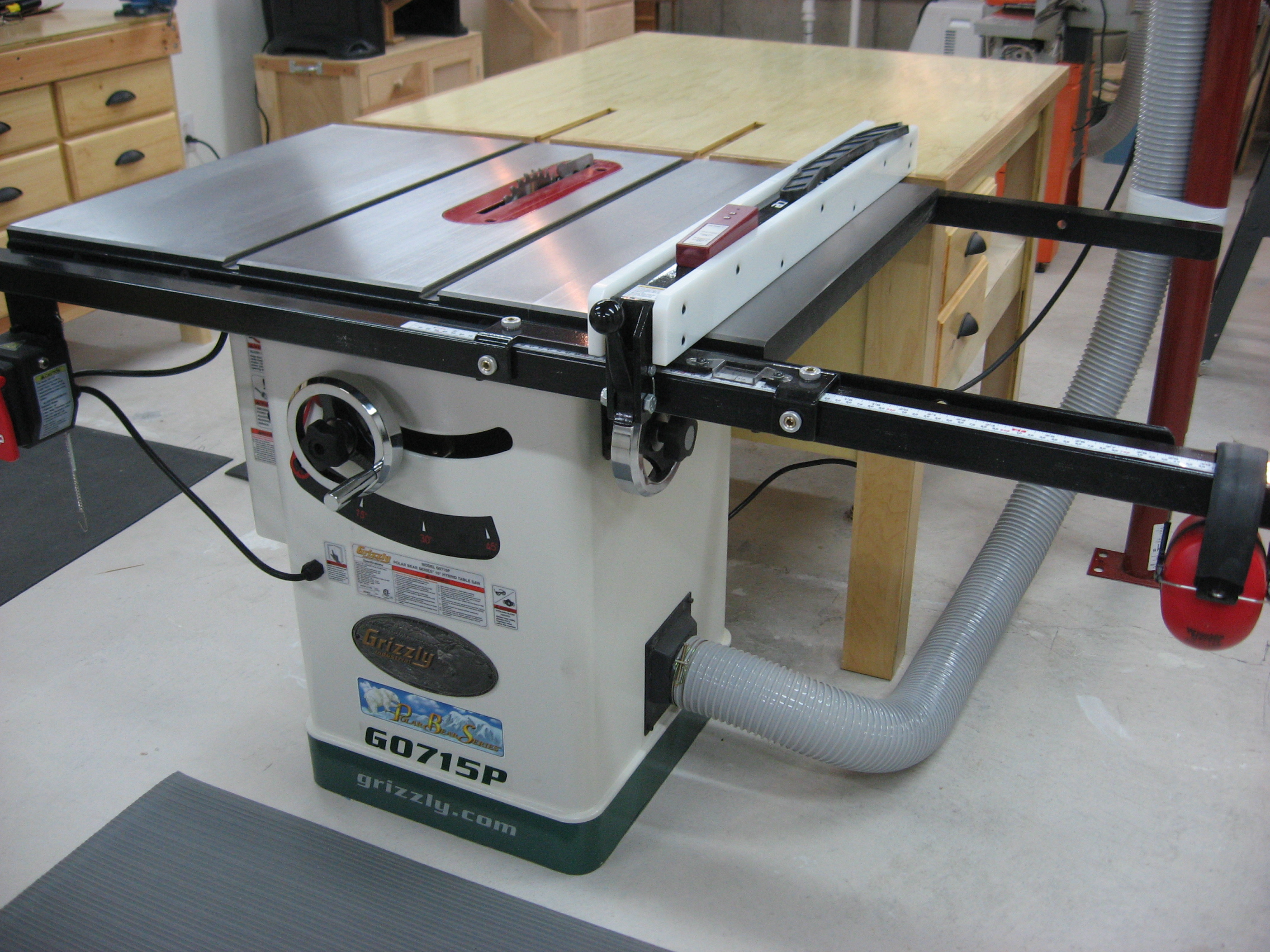 Creekside woodshop the workshop grizzly table saw g0715p keyboard keysfo Images